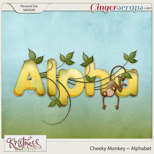 Cheeky Monkey Alphabet
