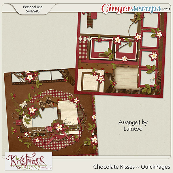 Chocolate Kisses QuickPages
