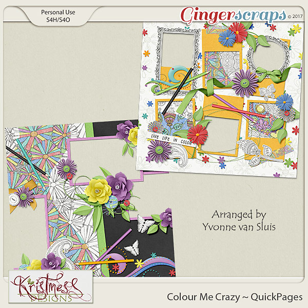 Colour Me Crazy QuickPages