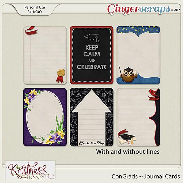 ConGrads Journal Cards