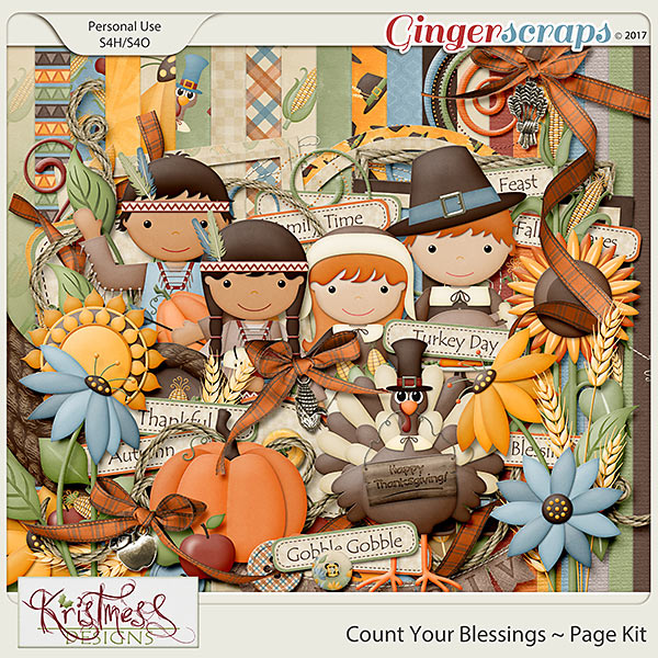 Count Your Blessings Page Kit