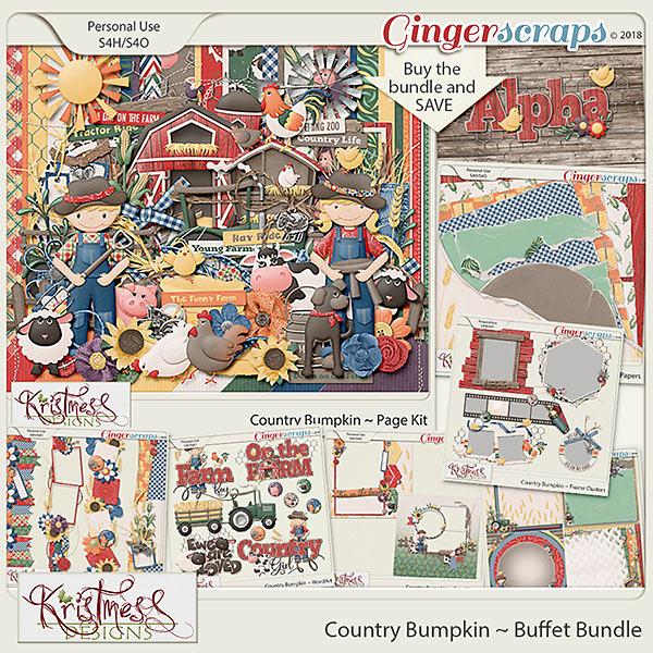 Country Bumpkin Buffet Bundle