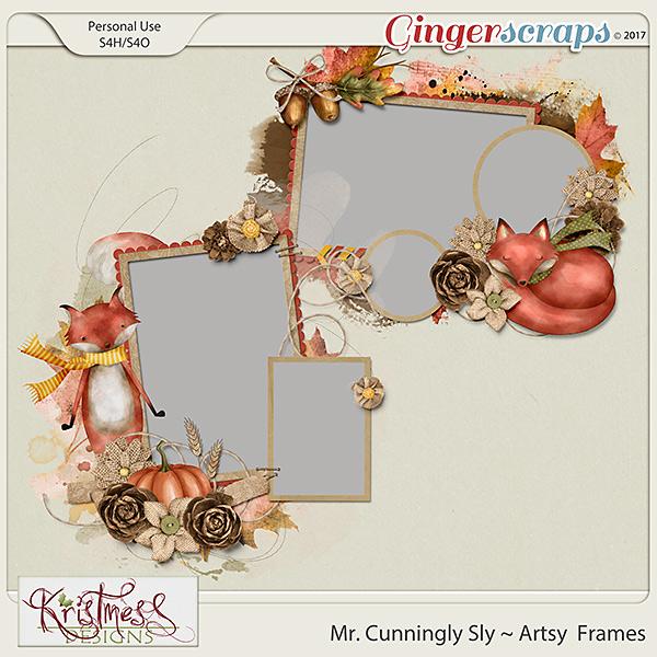 Mr. Cunningly Sly Artsy Frames