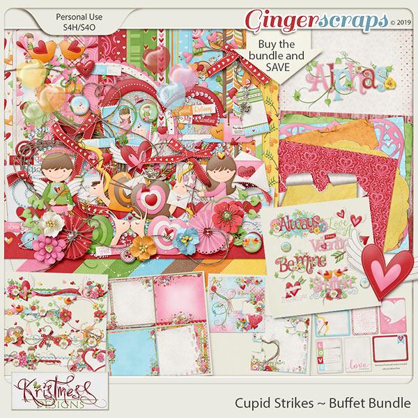 Cupid Strikes Buffet Bundle