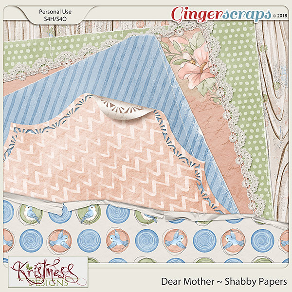 Dear Mother Shabby Papers