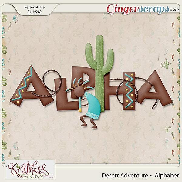 Desert Adventure Alphabet