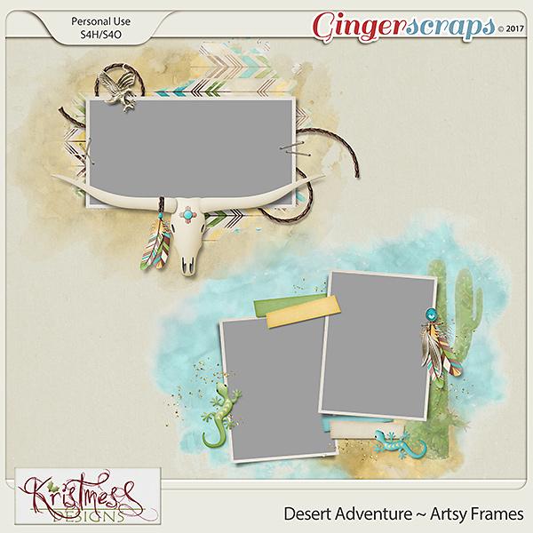 Desert Adventure Artsy Frames