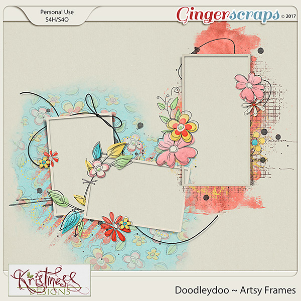 Doodleydoo Artsy Frames