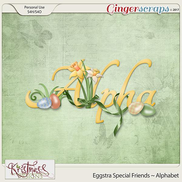 Eggstra Special Friends Alphabet