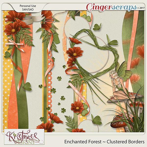 Enchanted Forest Clustered Borders