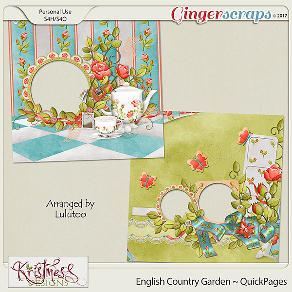 English Country Garden QuickPages