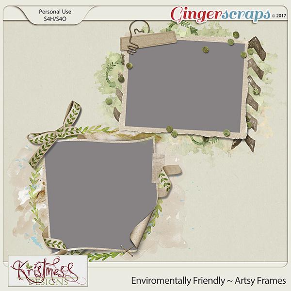Environmentally Friendly Artsy Frames