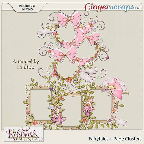 Fairytales Page Clusters