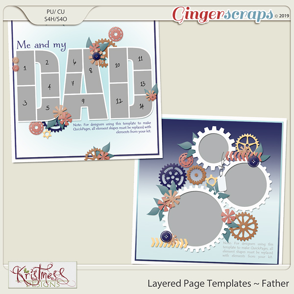 Layered Page Templates ~ Father