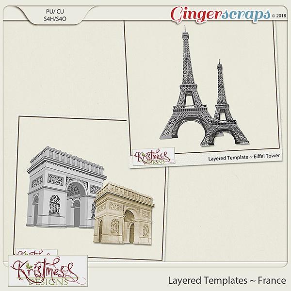 CU Layered Templates ~ France
