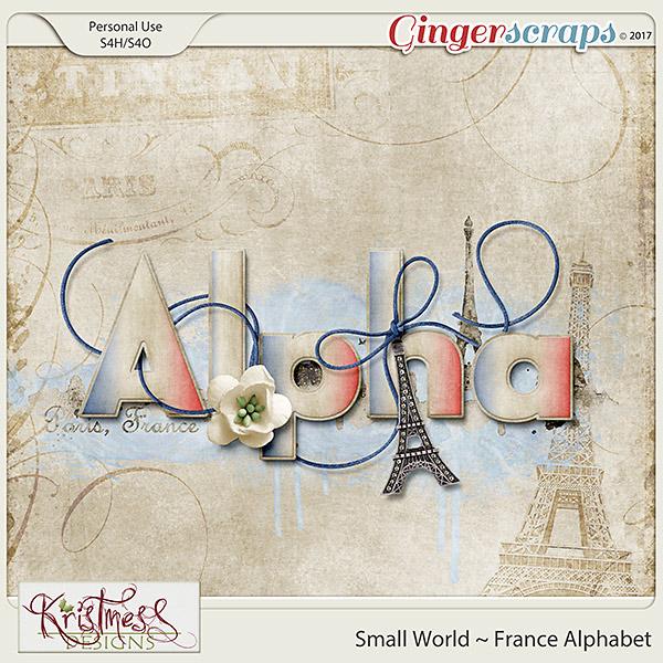 Small World ~ France Alphabet