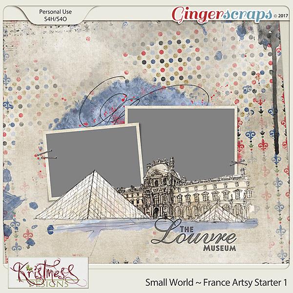 Small World ~ France Artsy Starter 1