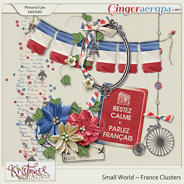 Small World ~ France Clusters