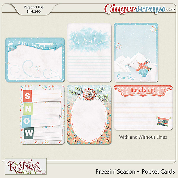 Freezin' Season Pocket Cards