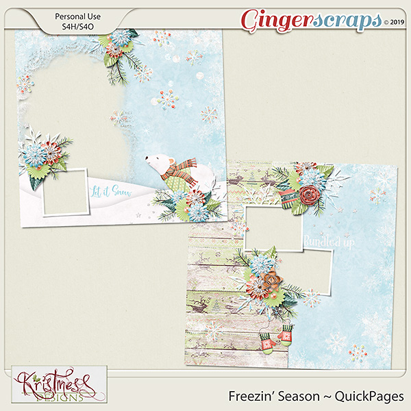 Freezin' Season QuickPages