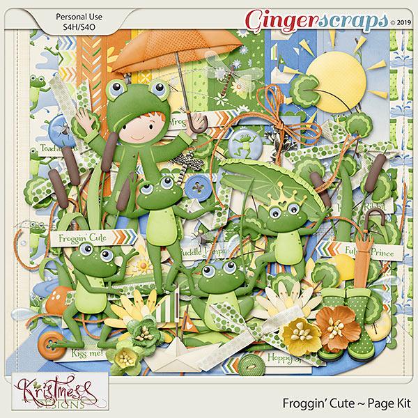 Froggin' Cute Page Kit