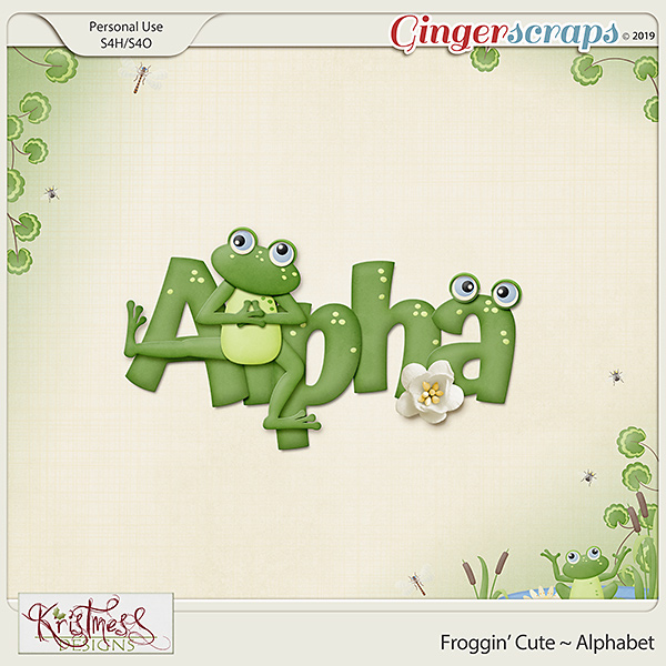 Froggin' Cute Alphabet