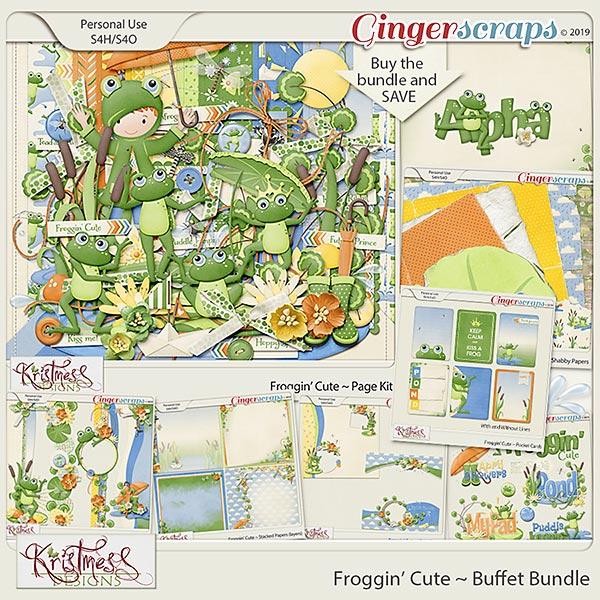 Froggin' Cute Buffet Bundle