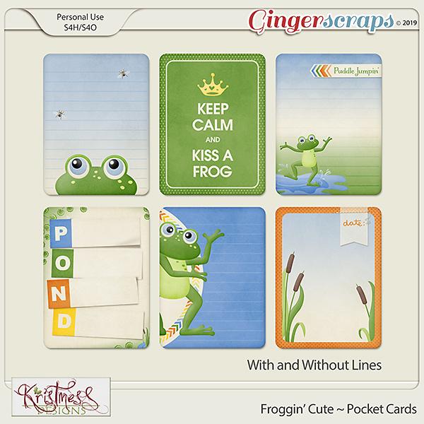 Froggin' Cute Pocket Cards