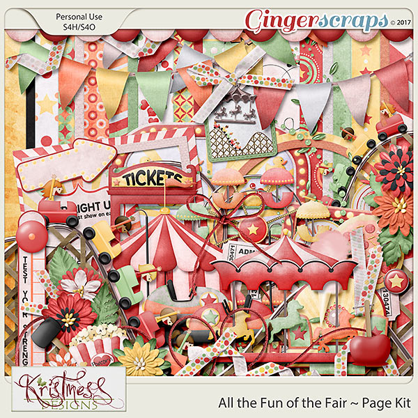 All the Fun of the Fair Page Kit