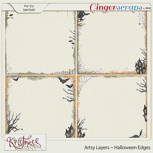 CU Artsy Layers ~ Halloween Edges