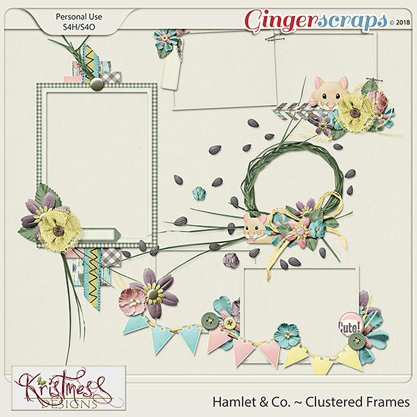 Hamlet & Co. Clustered Frames