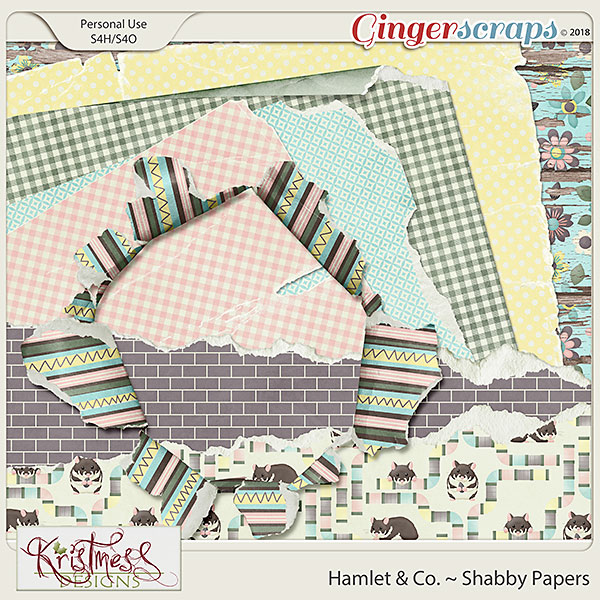 Hamlet & Co. Shabby Papers