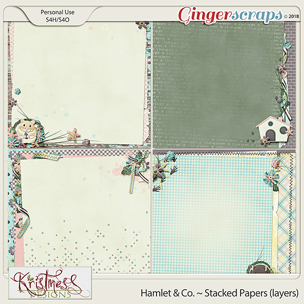 Hamlet & Co. Stacked Papers (layers)