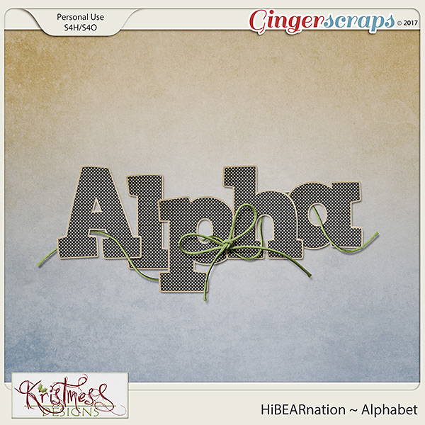 HiBEARnation Alphabet