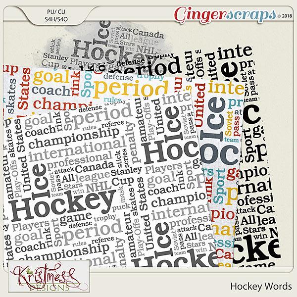 CU Hockey Words