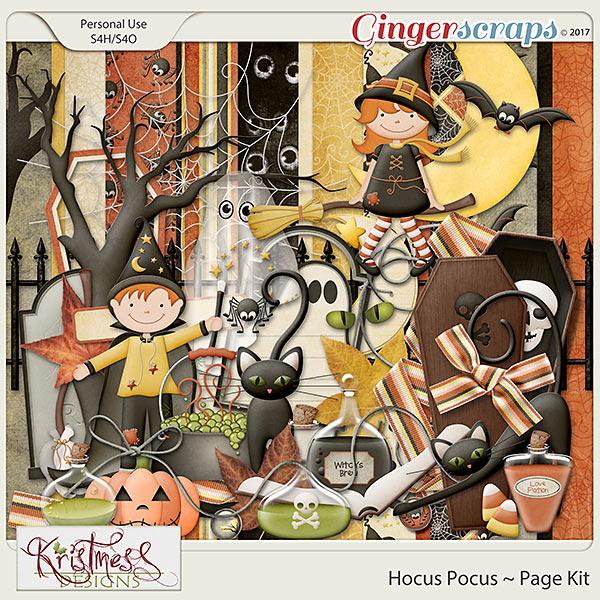 Hocus Pocus Page Kit