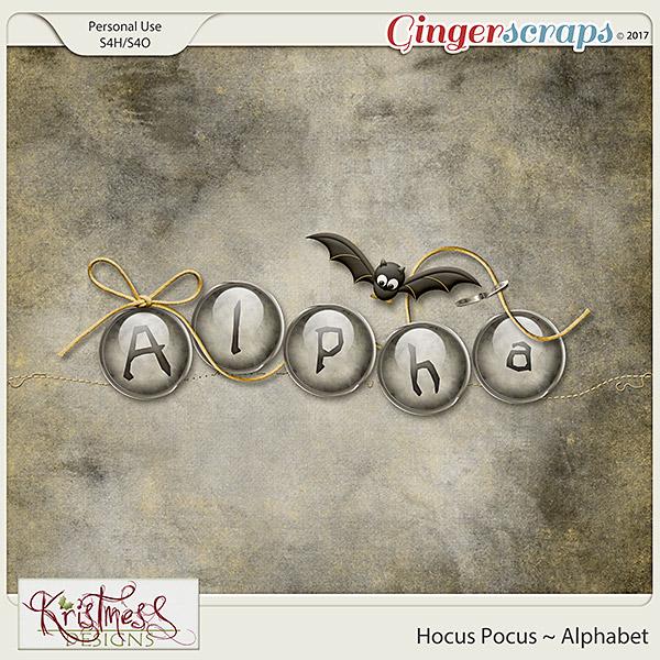 Hocus Pocus Alphabet