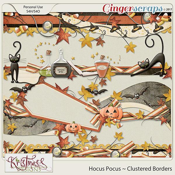 Hocus Pocus Clustered Borders