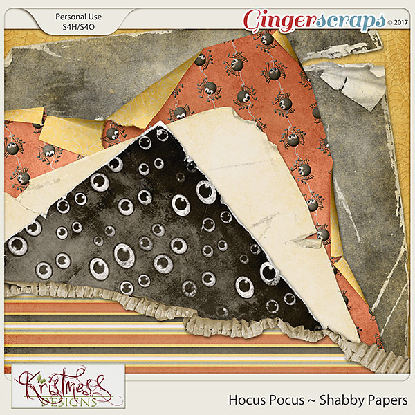 Hocus Pocus Shabby Papers