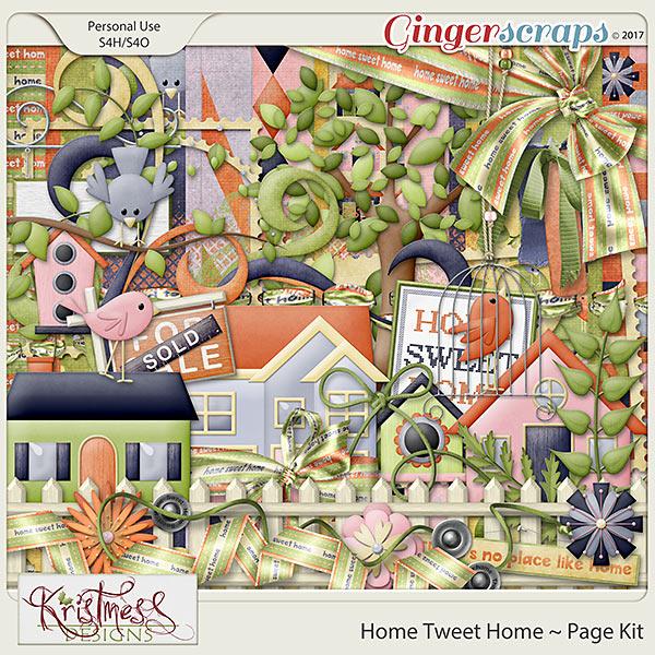 Home Tweet Home Page Kit