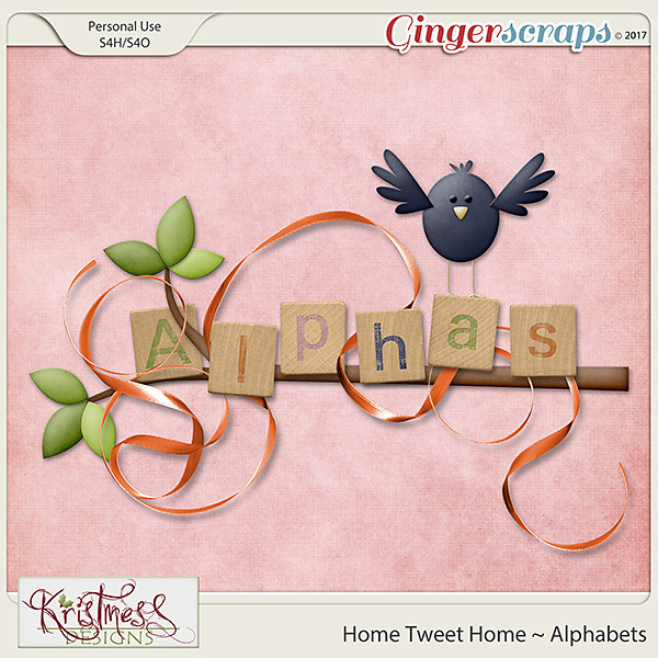 Home Tweet Home Alphabets