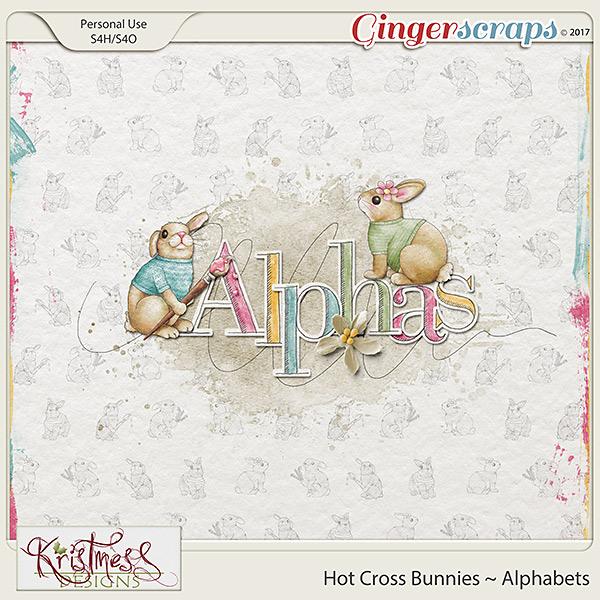 Hot Cross Bunnies Alphabets