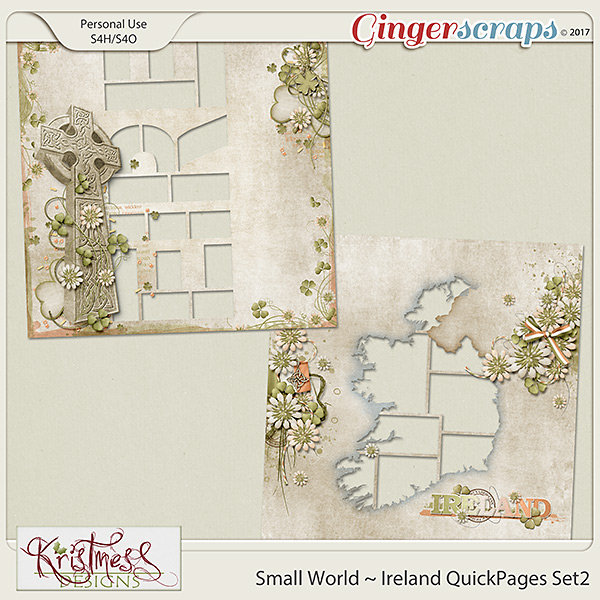 Small World ~ Ireland QuickPages 2