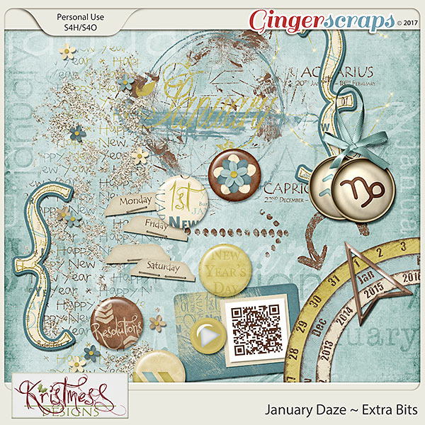 January Daze Extra Bits