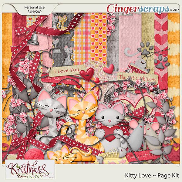 Kitty Love Page Kit