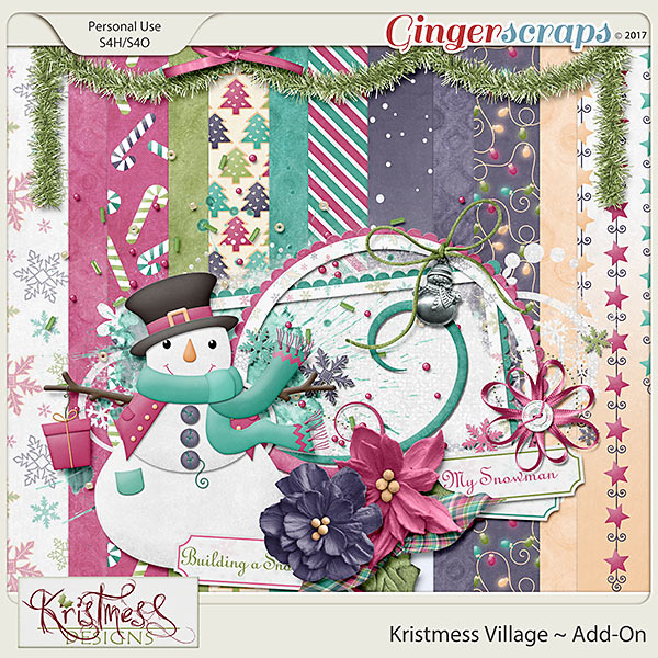 Kristmess Village Add-On