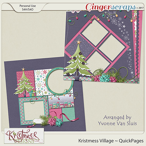 Kristmess Village QuickPages