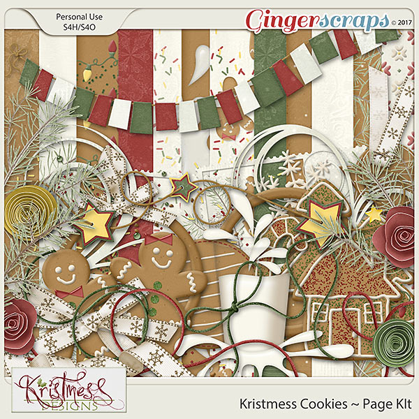 Kristmess Cookies Page Kit