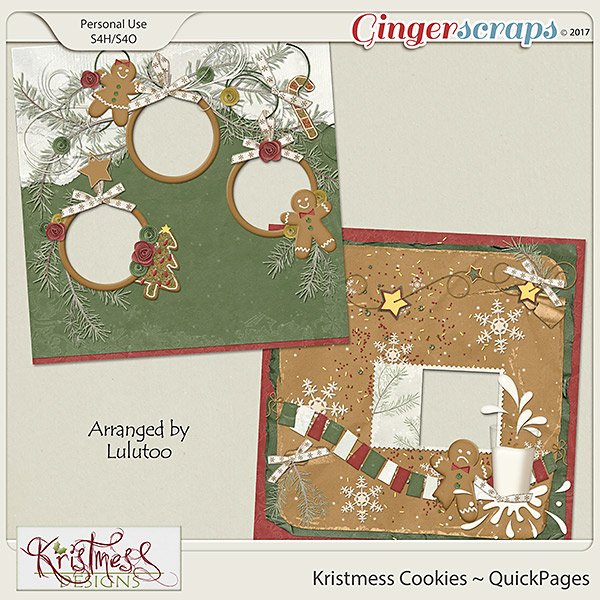 Kristmess Cookies QuickPages