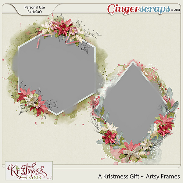 A Kristmess Gift Artsy Frames